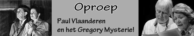 Oproep Gregory mysterie