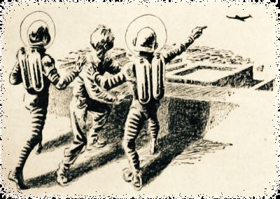 Illustratie uit de radiogids
