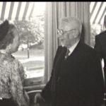 Foto 4. Links mevrouw Kleijn en ? en ?