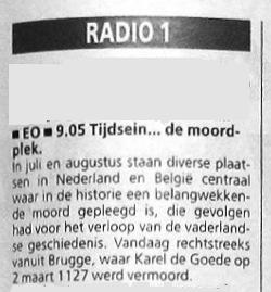 Informatie uit de radiogids