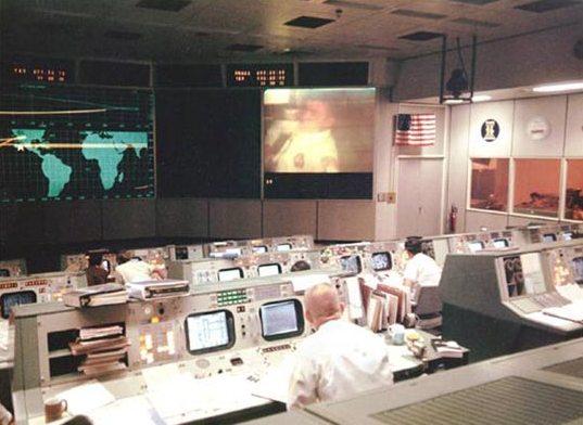Mission Control van NASA