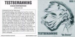 Testbemanning cd-hoesje deel 1
