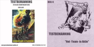 Testbemanning cd-hoesje deel 6
