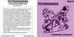 Testbemanning cd-hoesje deel 8