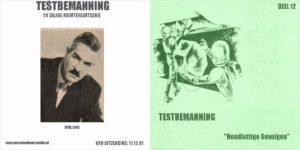 Testbemanning cd-hoesje deel 12