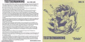 Testbemanning cd-hoesje deel 13