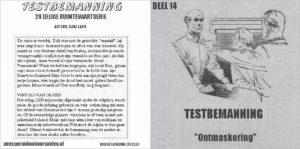 Testbemanning cd-hoesje deel 14