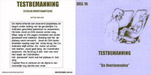 Testbemanning cd-hoesje deel 16