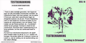Testbemanning cd-hoesje deel 18