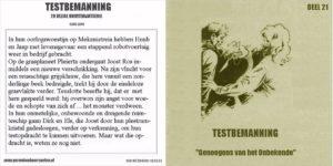 Testbemanning cd-hoesje deel 21