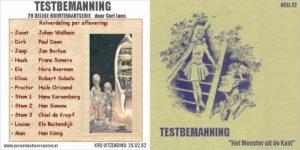 Testbemanning cd-hoesje deel 22