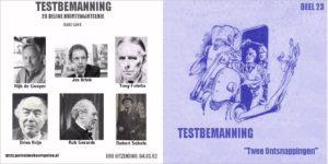 Testbemanning cd-hoesje deel 23