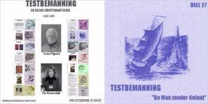 Testbemanning cd-hoesje deel 27