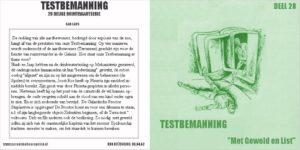 Testbemanning cd-hoesje deel 28