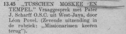 Datum uitzending: zaterdag 27-07-1946.