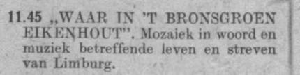 Datum uitzending: zondag 21-07-1946.