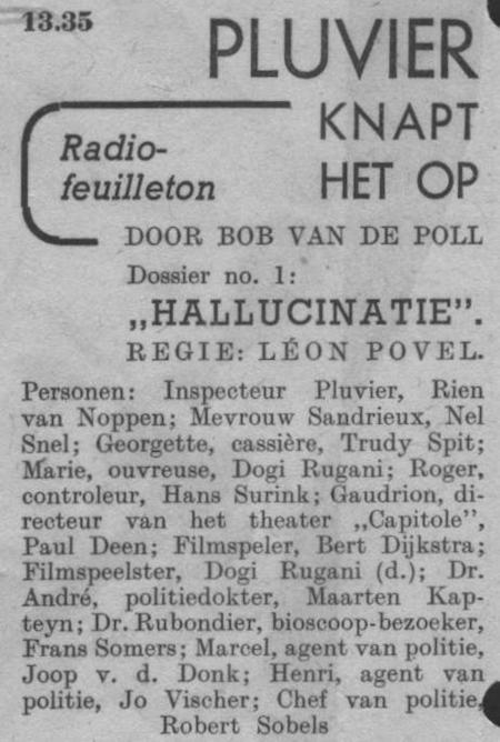 Datum uitzending: zondag 07-12-1947.