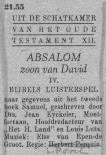 Datum uitzending: vrijdag 02-04-1948.
