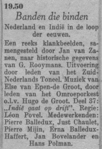 Datum uitzending: deel 37 zaterdag 10-04-1948.