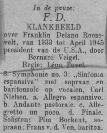 Datum uitzending: dinsdag 20-04-1948.