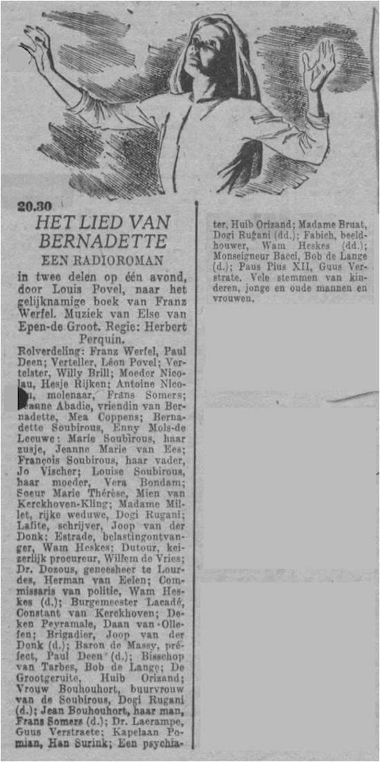 Datum uitzending: dinsdag 04-05-1948.