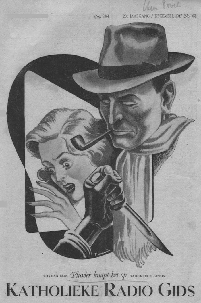 Cover radiogids (1947).