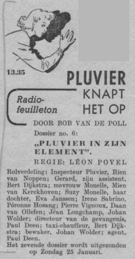 Datum uitzending: zondag 18-01-1948.