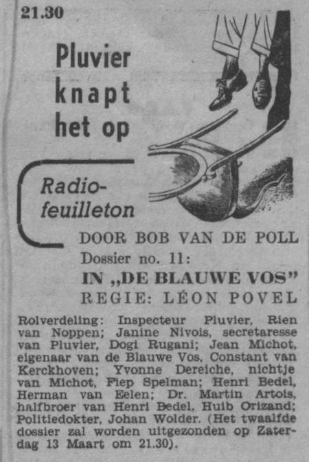 Datum uitzending: zaterdag 28-02-1948.