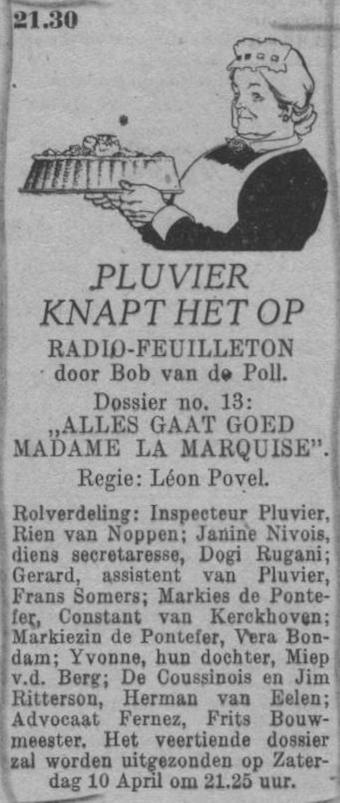 Datum uitzending: zaterdag 27-03-1948.