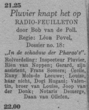 Datum uitzending: zaterdag 12-06-1948.