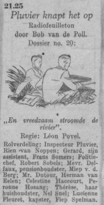 Datum uitzending: zaterdag 26-06-1948.