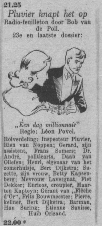 Datum uitzending: zaterdag 17-07-1948.