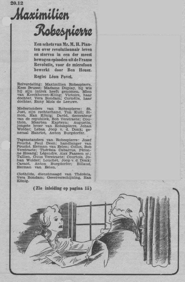 Datum uitzending: dinsdag 03-02-1948.