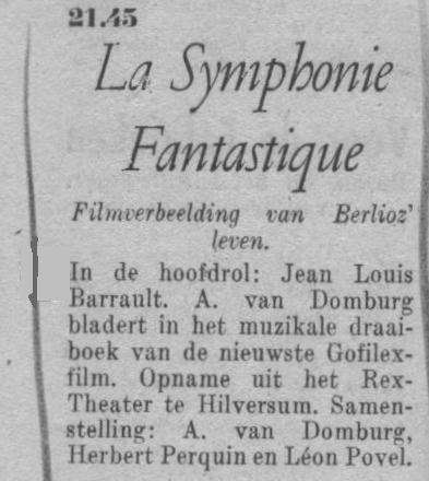 Datum uitzending: zondag 19-09-1948.