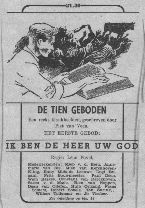Datum uitzending: vrijdag 01-10-1948.