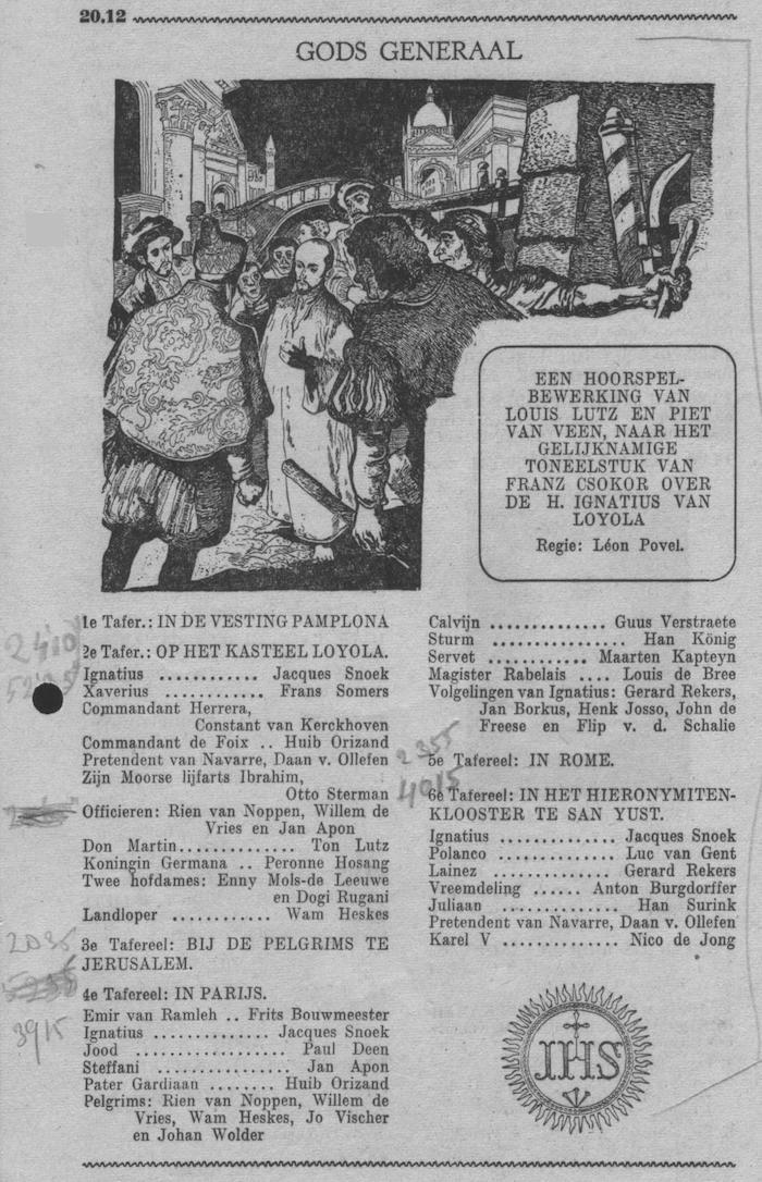 Datum uitzending: dinsdag 17-10-1950.
