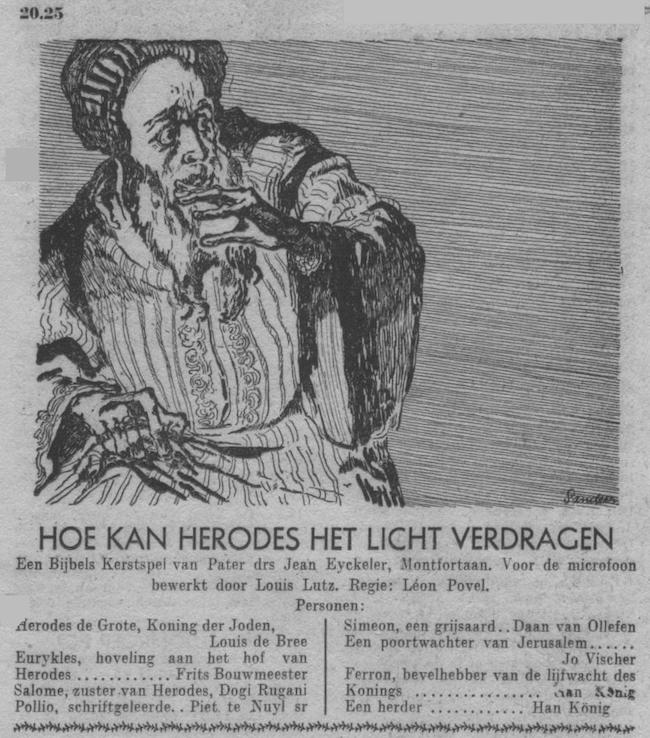Datum uitzending: dinsdag 26-12-1950.