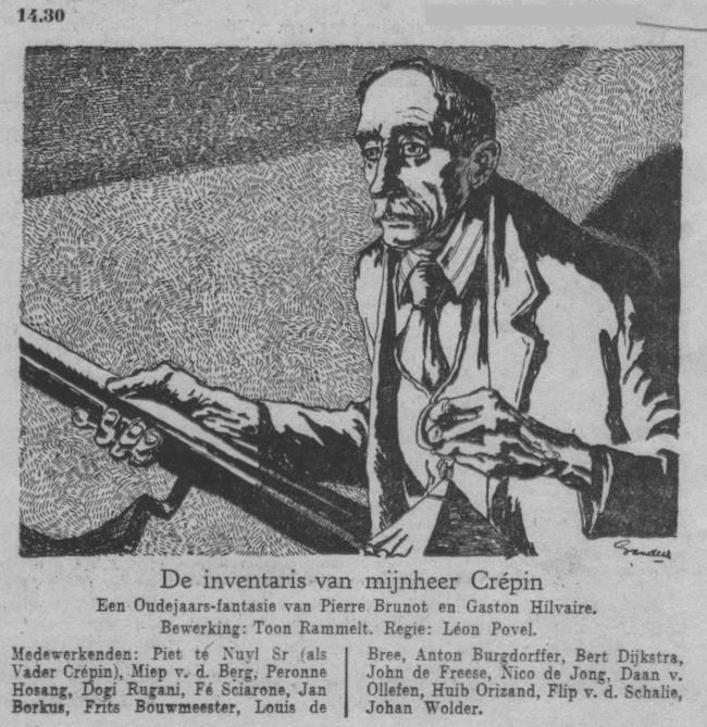 Datum uitzending: zondag 31-12-1950.