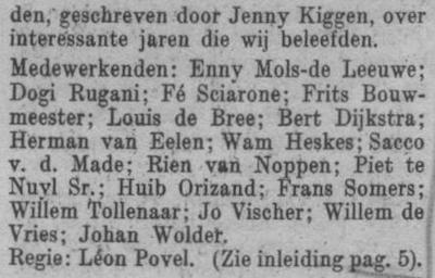 Datum uitzending: vrijdag 14-04-1950.