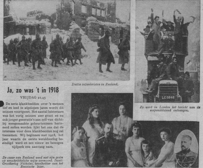 Info bij uitzending van 29-09-1950.