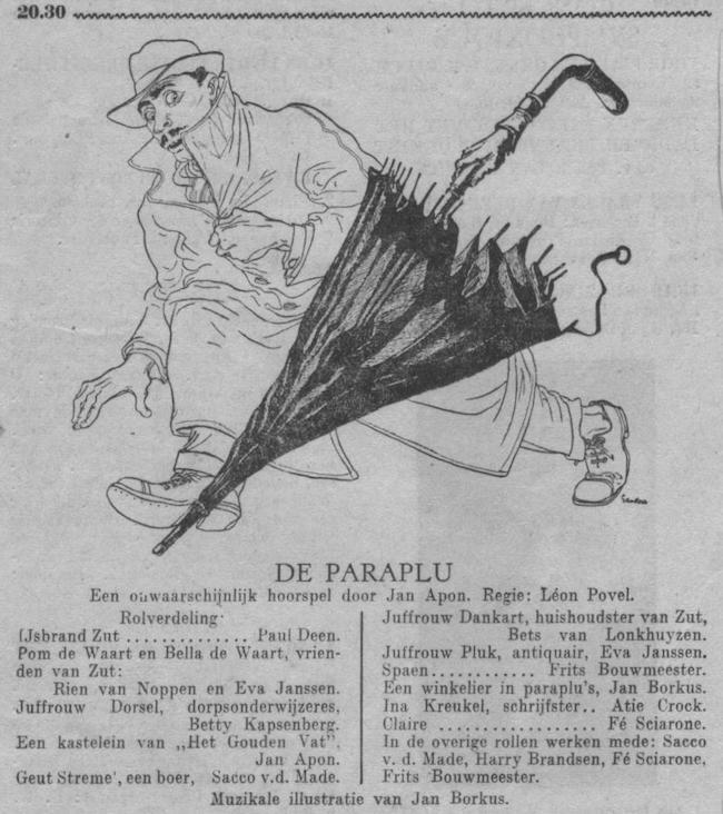 Datum uitzending: zondag 12-11-1950.