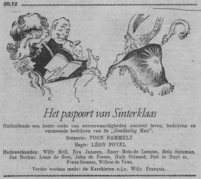 Datum uitzending: dinsdag 05-12-1950.