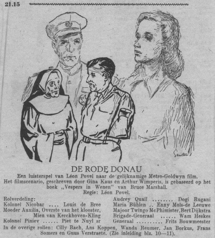 Datum uitzending: zondag 24-09-1950.