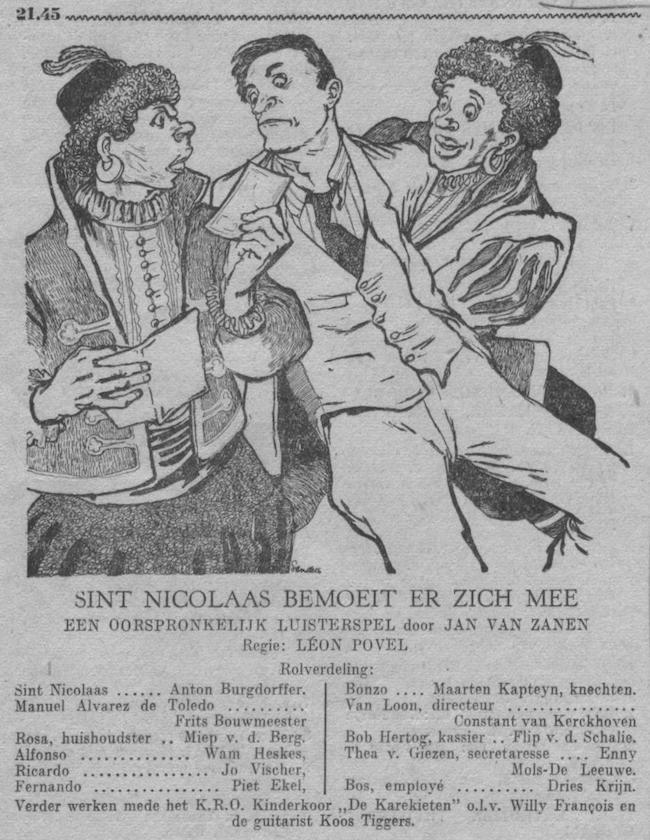 Datum uitzending: zondag 03-12-1950.
