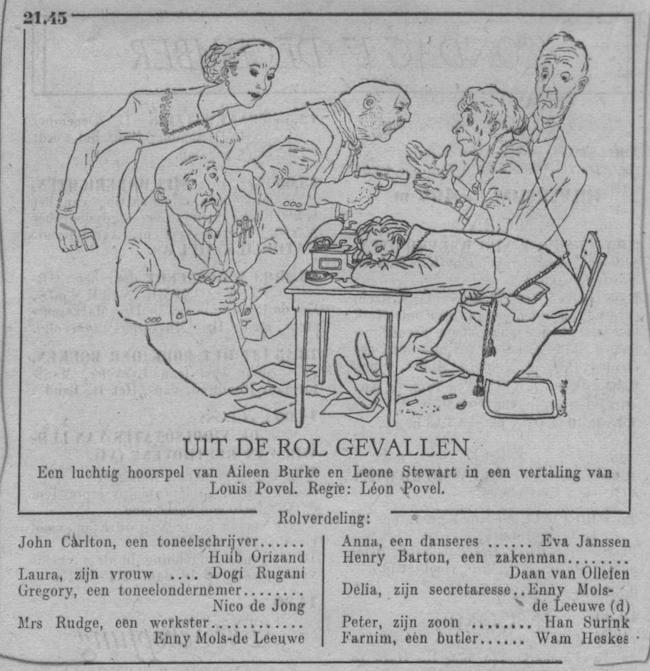 Datum uitzending: zondag 17-12-1950.