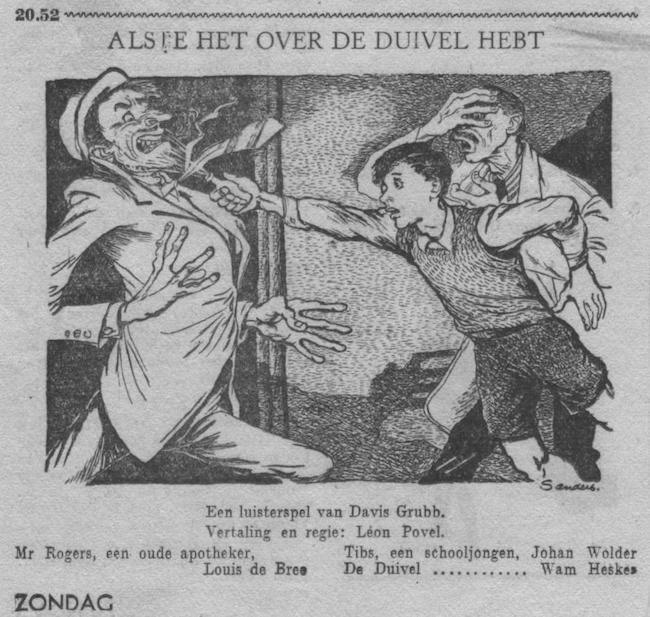 Datum uitzending: zondag 14-10-1951.