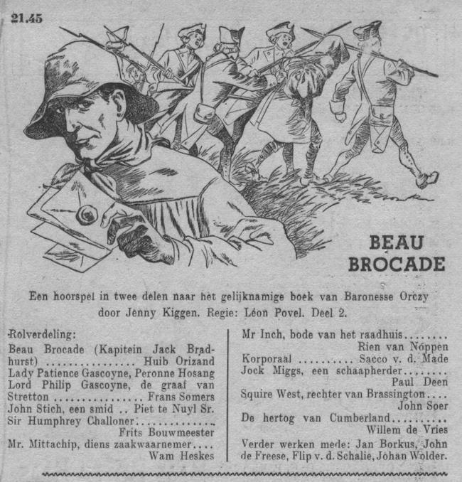 Datum uitzending: zondag 30-09-1951.