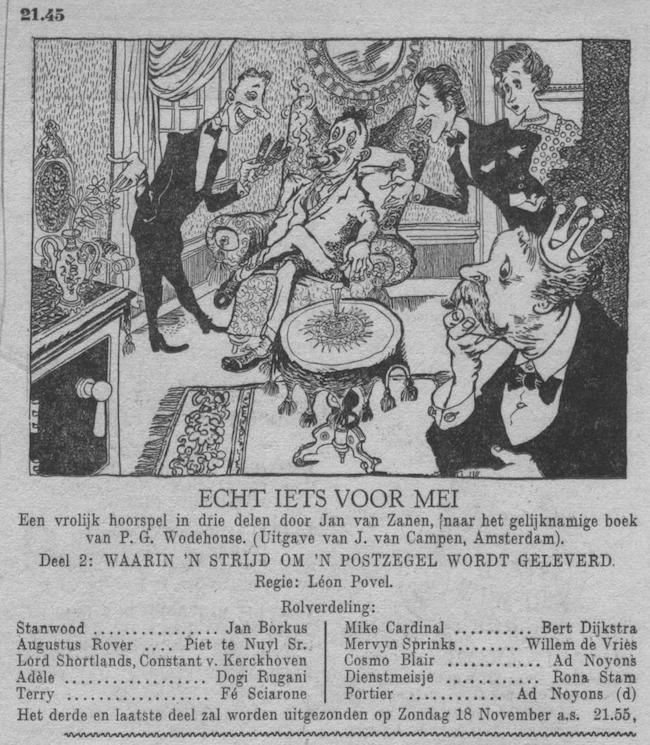 Datum uitzending: zondag 11-11-1951.