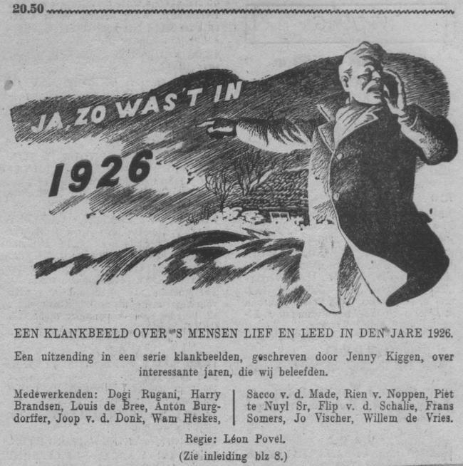 Datum uitzending: vrijdag 19-01-1951.