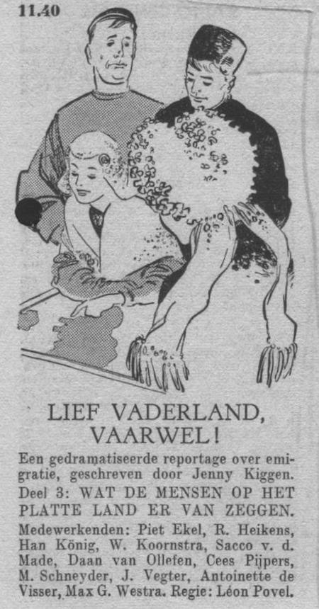 Derde deel, datum uitzending: zondag 03-06-1951.